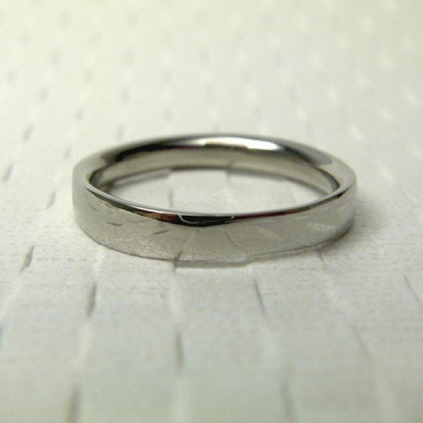 画像1: hirataira 平平 (結婚指輪 K18ブラック 3mm) (1)