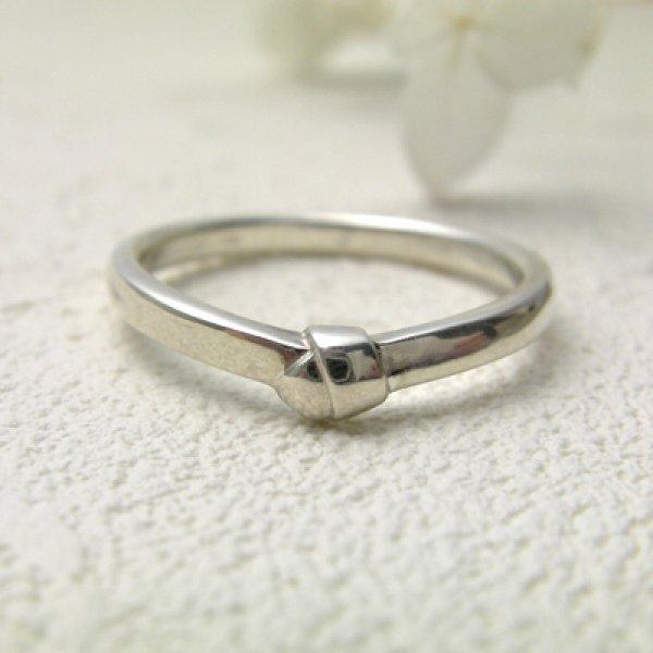 画像1: omusubi お結び (結婚指輪 Pt900 2.2mm) (1)