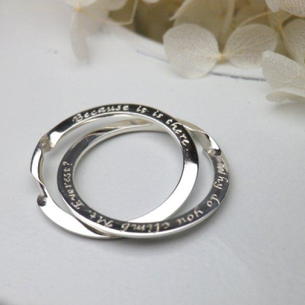 画像1: puzzle ring  パズルリング (結婚指輪 プラチナ900) (1)